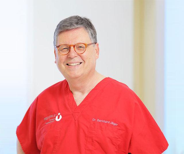 Dr. Bernhard Jäger - MED:SMILE® – Zahnarzt Mannheim, Zahnarztpraxis für Zahnheilkunde und Implantologie